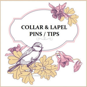 Lapel Pins & Collar Tips